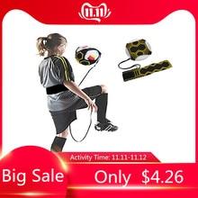 Children Soccer Training Sports Assistance Adjustable Football Trainer Soccer Ball Practice Belt Training Equipment Kick TSLM1
