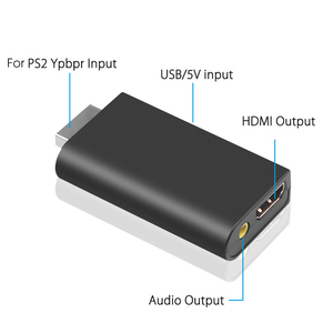 Image 4 - For PS2 To HDMI Video Converter Adapter With 3.5mm Audio Output For HDTV Mini Game Player To HDMI High Quality