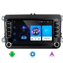 RNS 510 2 din v w gps dvd Радио Android 10,0 Golf 5 6 Je tta Mk5 Mk6 Passat CC Tiguan po lo Eos sharan bluttooth