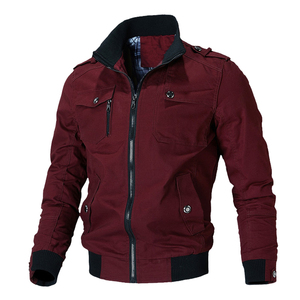 Image 5 - Mountainskin Casual Jacket Men Spring Autumn Army Military Jackets Mens Coats Male Outerwear Windbreaker Brand Clothing SA779