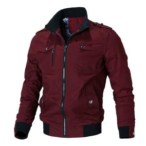 Image 5 - Mountainskin jaqueta casual masculina, primavera outono, exército, militar, casacos para uso externo, roupas de marca, sa779