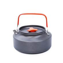 Portable Camping Kettle Outdoor Coffee Kettle Travel Camping Tableware Lightweight Outdoor Picnic Teapot 1L 1.6L Cookware Pot portable 0 8l outdoor hiking camping water kettles teapot coffee pot travel houseused hot water kettle