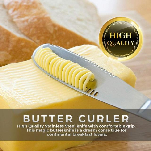 1Pc Multifunction Stainless Steel Butter Knife Cream Knife Western Bread Jam Knife Cream Cutter Kitchen Utensils Dessert Tool tanie i dobre opinie CN (pochodzenie) 3 in 1 Butter tool 22x2 2x0 5cm Cheese Cream Bread Butter and etc Support