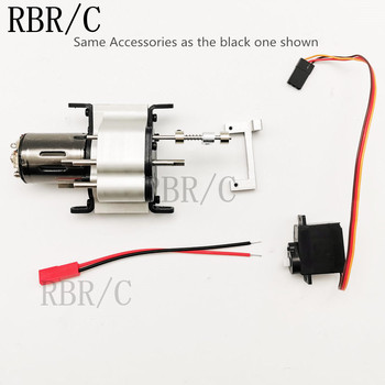 RBR/C all-metal two-speed gearbox for WPL MN JJRC RC car modification DIY upgrade parts