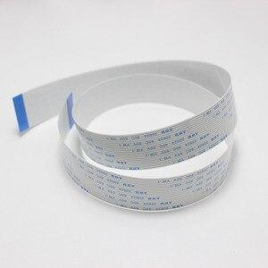 2 шт. FFC/FPC Гибкий плоский кабель 1,0 мм 50/100/150/200 мм B Тип контакта 4P 5 6 7 8 10 11 12 13 14 лет, 18, 20, 22, 24, 26-30 Pin