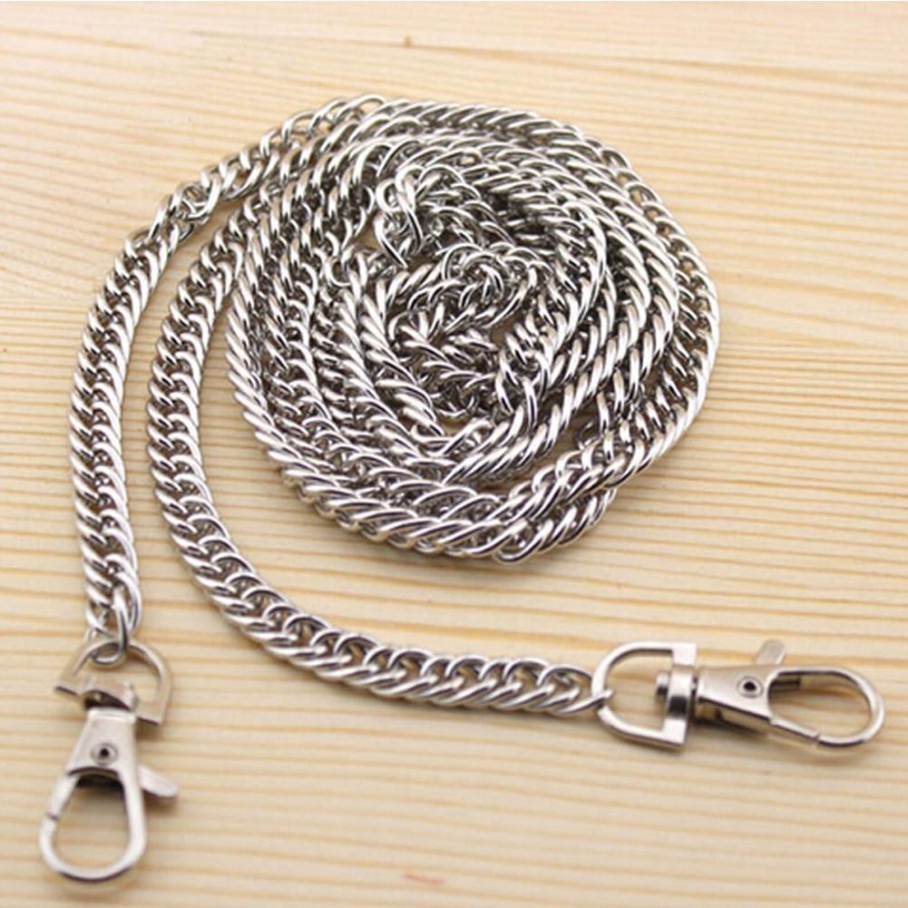 Purse Accessories Hardware Metal Long Durable Gift Practical Bag Chain Multi Use Handbag Strap DIY Fashion Replacement Belt#734