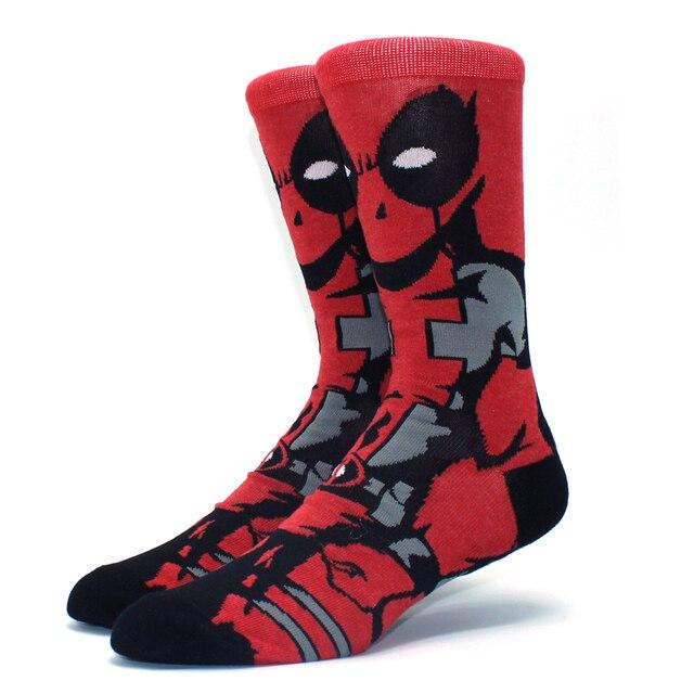 Looney Ttunes & Marvel Anime Cartoon Socks 3