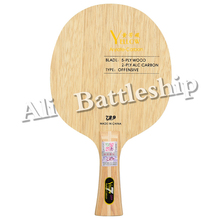 Table-Tennis-Blade Racket Ping-Pong Carbon 729 ALC Offensive Yellow Blue Black for Bat