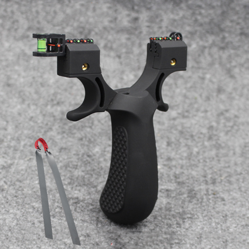Optical Fiber Slingshot Accurate Shooting Light Wire Cutting Catapult Adult Gift