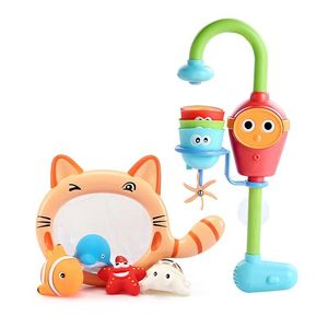 Image 5 - ชุดว่ายน้ำ spouts Clockwork เล่นน้ำห้องน้ำ oyuncak สำหรับทารกเด็กเด็กสระว่ายน้ำว่ายน้ำอ่างอาบน้ำ bath ของเล่น
