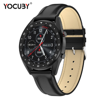 YOCUBY L7 ECG Smart Sports Watch PPG HRV Report Heart Rate Sleeping Monitor IP68 Waterproof Swimming Fitness Tracker for Men