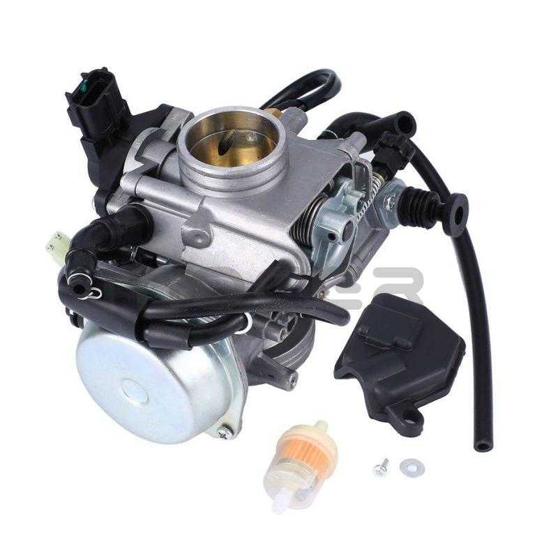 TRX500 Carburetor for 2001-2004 Fourtrax Foreman Rubicon ATV Quad
