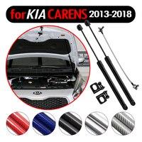 Car Styling Auto Front Hood Bonnet Modify Gas Struts Lift Support Shock Damper for Kia Rondo for Kia Carens 2013 2018 Absorber Strut Bars     -