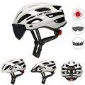 Велосипедный дорожный горный шлем интегральный велосипед для триатлона шлемы мужские гоночный велосипед шлем с солнцезащитным козырьком ...