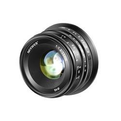 Neewer 25mm f/1.8 Manual Focus Prime Fixed Lens for Fujifilm APS-C Digital Mirrorless Cameras XPro2 XE3 XH2 X100F X100T X100S