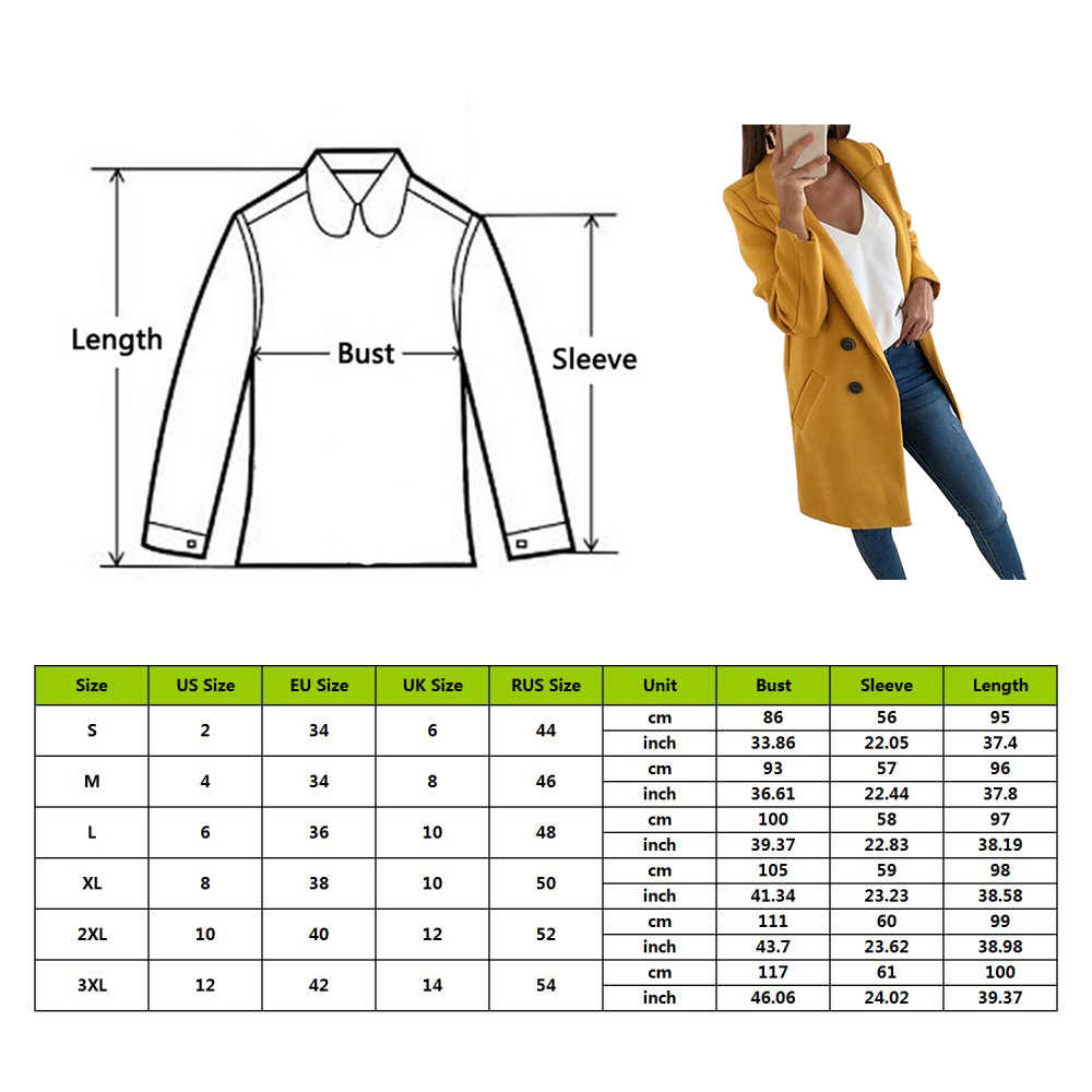 Jaqueta fina feminina para outono, casaco liso para mulheres, blusa longa, gola virada, 2020 feminino