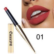12 Eyeshadow 1pc Waterproof Lipstick Matte Pumpkin Color Lipstick Eat Earth Rich Vitamin E Moistu Pumpkin Color Finished Matte