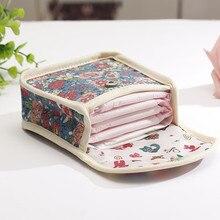 Гигиенические прокладки Сумки влажные многоразовые дорожные сумки для хранения мама Тряпичные подушечки менструальная салфетка также может быть монета макияж мешок инструмент для макияжа