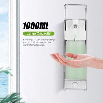 цена на 500ml/1000ml Automatic Soap Dispenser Touchless Bathroom Dispenser Smart Sensor Liquid Soap Dispenser Kitchen Medical Devices