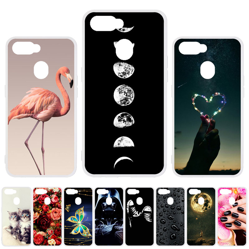 Soft TPU <font><b>Case</b></font> For <font><b>Oppo</b></font> A5s <font><b>Cases</b></font> Silicon DIY Painted Back Phone Coque For <font><b>Oppo</b></font> A5s CPH1909 A1k <font><b>A9</b></font> <font><b>2020</b></font> <font><b>A5</b></font> <font><b>2020</b></font> <font><b>Case</b></font> Cover Etui image