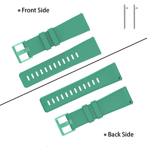 Image 4 - Duszake Band For Fitbit Versa/ Versa Lite/ Versa 2 Silicone Adjustable Replacement Classic Fitness Strap For Fitbit Versa 2 Band