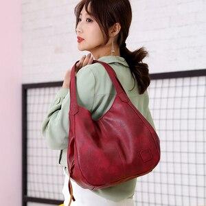 Image 5 - SMOOZA sacs à main Vintage en cuir pour femmes, sacoches de luxe de marque célèbre, Sac de grande capacité, fourre tout, nouvelle collection 2020