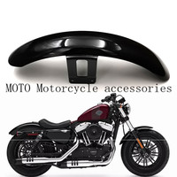 Motorcycle Front Mudguard Wheel Fender Cover For Harley Sportsters XL883 XL1200 N R L X48 72 Glossy Black|  -