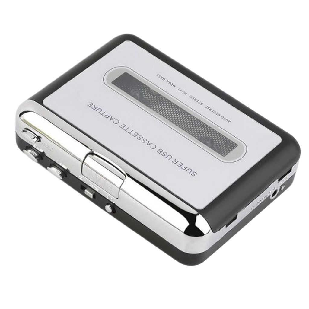 ウォークマンデジタル Tape-to-MP3 コンバータ USB カセットアダプタハイファイ音楽プレーヤー