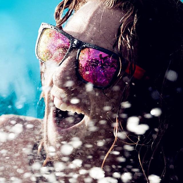 ClassicSportVintageMirrorSquare Sunglasses-UV400 2