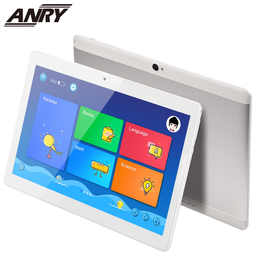 ANRY New Original Android 7.0 10 Inch Tablet Pc Quad Core 4G Phone Call Google Market GPS WiFi FM Bluetooth 10.1 Phablet