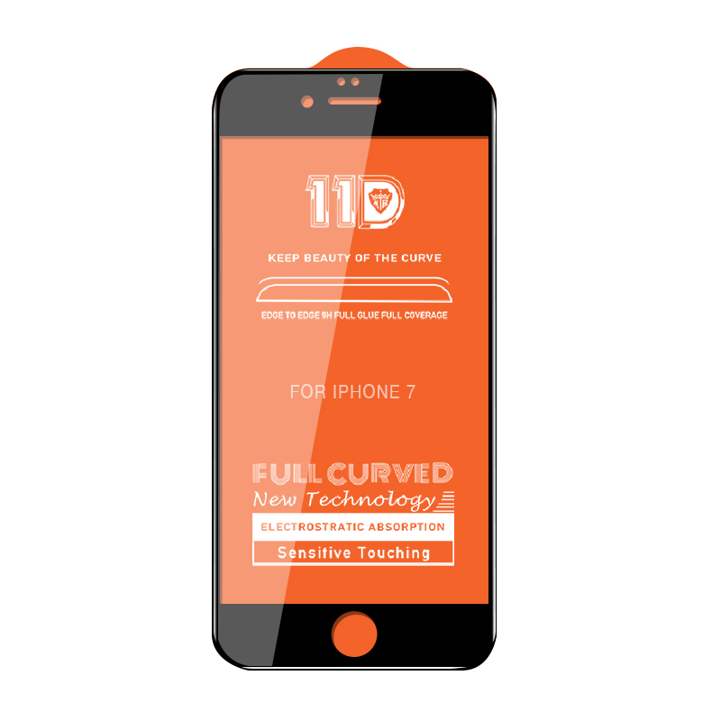 Image 5 - 11D for iphone glass X xr screen protector original curved protective tempered glass film for iphone x xr glass-in Phone Screen Protectors from Cellphones & Telecommunications on