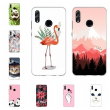For Huawei Honor 6A 8X Case Soft TPU Silicone For Huawei Honor 9 Lite Cover Floral Patterned For Huawei Honor 10 10 Lite Shell for huawei honor 6a 8x case soft tpu silicone for huawei honor 9 lite cover panda patterned for huawei honor 10 10 lite bumper