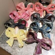 Аврора Цвет волос ручки бантом Форма модная Корейская Стиль