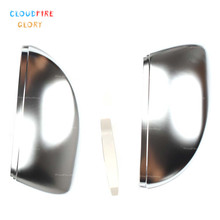 цена на CloudFireGlory New Rearview Mirror Covers For Volkswagen Golf VII MK7 7 GTI 2014 2015