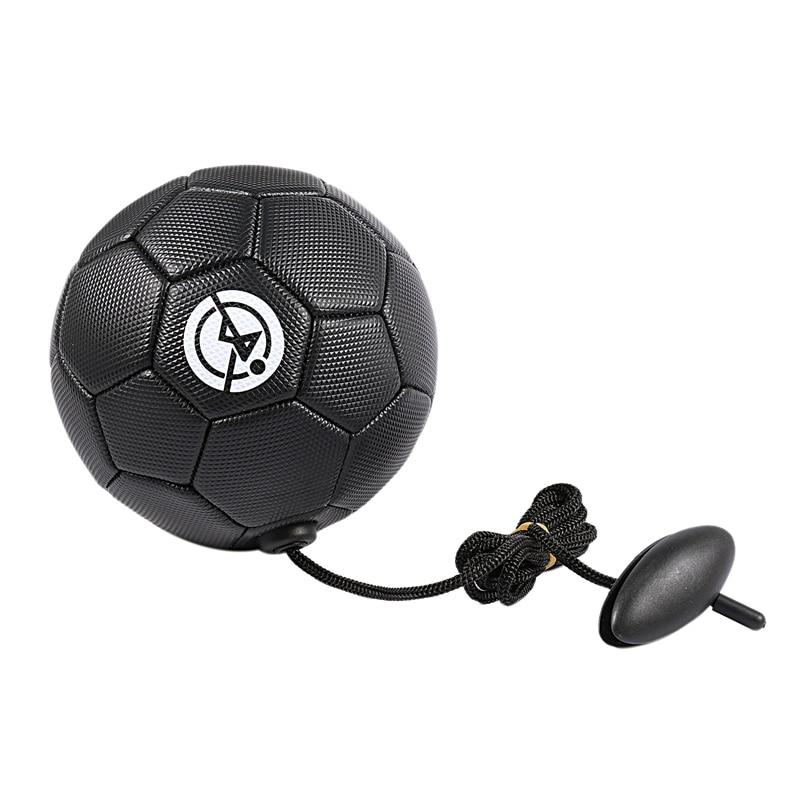 Football Training Ball Kick Soccer Ball Tpu Size 2 Kids Adult Futbol With String Beginner Trainer Practice Belt