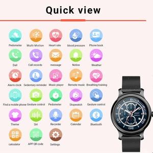 Image 3 - R2 Smart Horloge Mannen Vrouwen 1.28 Tastbaar Display Bluetooth Call Hartslag Bloeddrukmeter Sport Smartwatch Paar Horloge