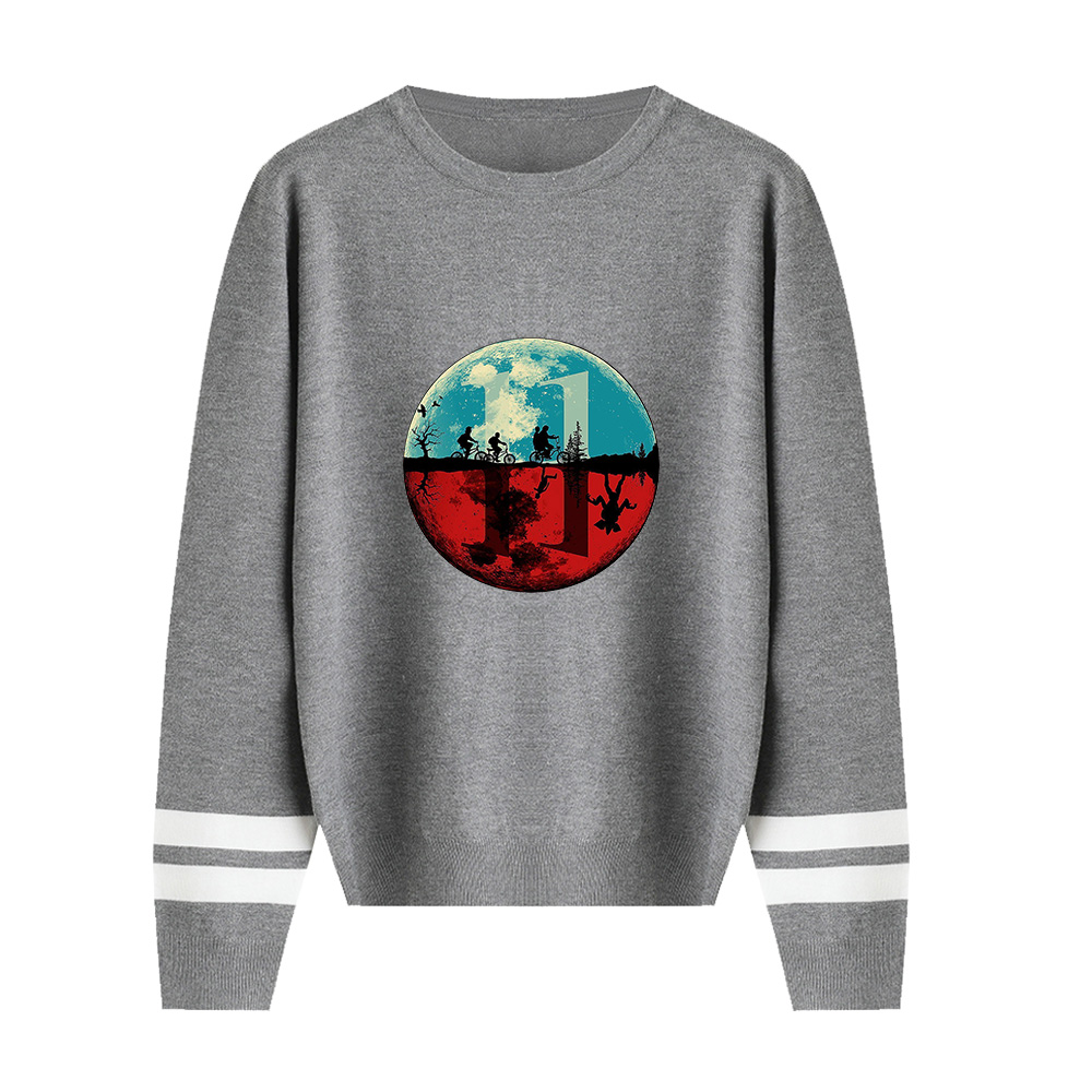 Casual New Stranger Things Sweater Men/Women Hot Sale Fall Harajuku Round Collar Stranger Things Round Neck Casual Sweater