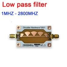 Filtro de passagem baixo 1mhz a 2800mhz para 2.4g wifi bluetooth