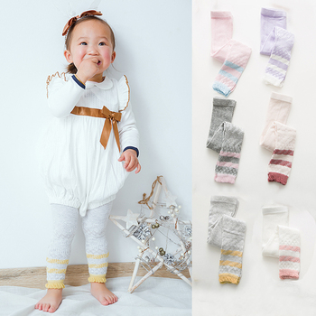 Spring  Autumn Cotton Newborn Baby Pantyhose Fashion Warm Soft Leggings Boy Girl Kids Toddler Printing Long Pants