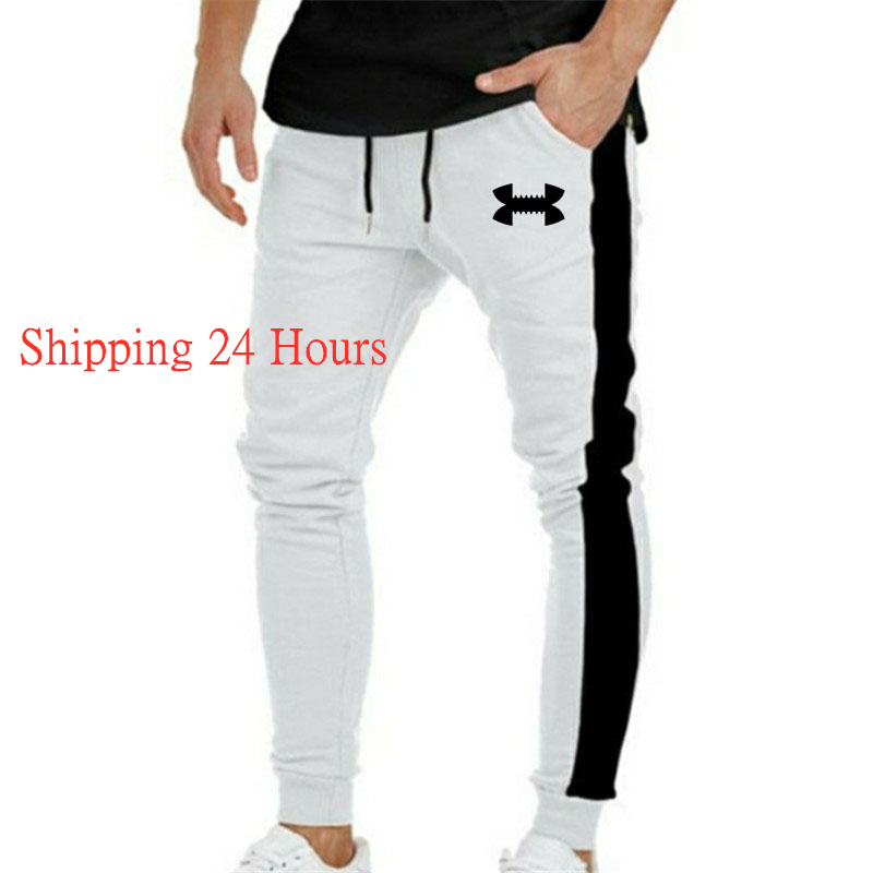 Men's Running Pants GYM Fitness Pants Running Tights Men Quick Dry Slim Sport Trousers Jogging Skinny Sport Leggings M-XXXL