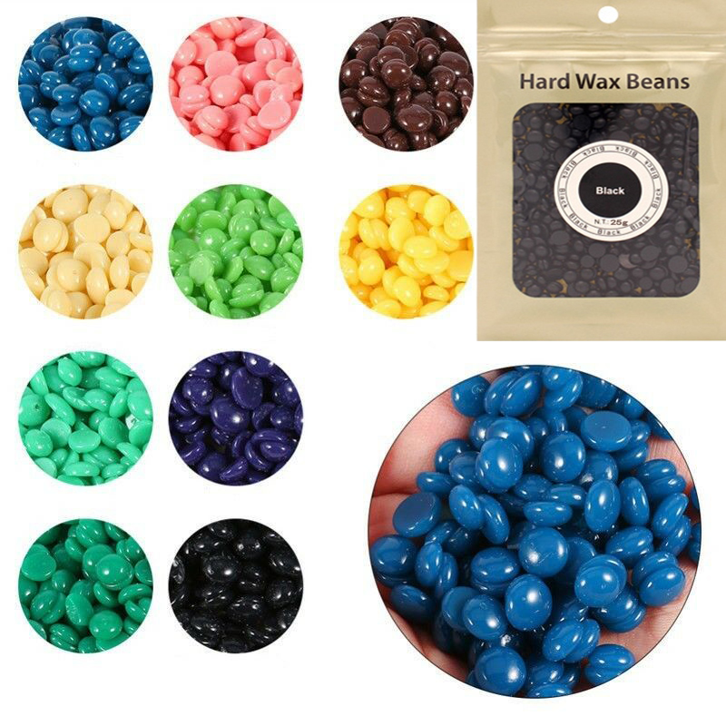 50g Pearl Hard Wax Beans Hot Film Wax Bead Hair Removal Wax Painless Depilatory