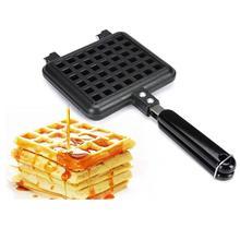 жидкость blaze 100 мл mapple syrup waffles 0 мг Household Waffles Mold Non-Stick Cake Mold Waffles Pan DIY Muffins Mould Bakeware Stove Waffles Waffle Machine Home Kitchen