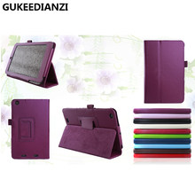GUKEEDIANZI Tablets PU Leather For Acer Iconia One 7 B1 730 B1-730 HD B1-730HD 7 Inch Stand Cover(China)