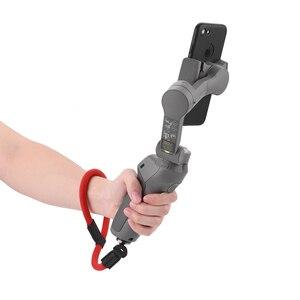 Image 3 - Naylon el kayışı kordon bilek kayışı DJI OM 4 Osmo Mobile 2 3 Zhiyun pürüzsüz 4 Q Feiyu Vimble vlog cep Moza aksesuarları