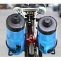 Алюминиевый сплав держатель для бутылки воды для велосипеда большая емкость велосипедный чайник подставка MTB части для наружного велоспор...