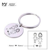 Keychain anniversary gift i still do personalized keychain customized