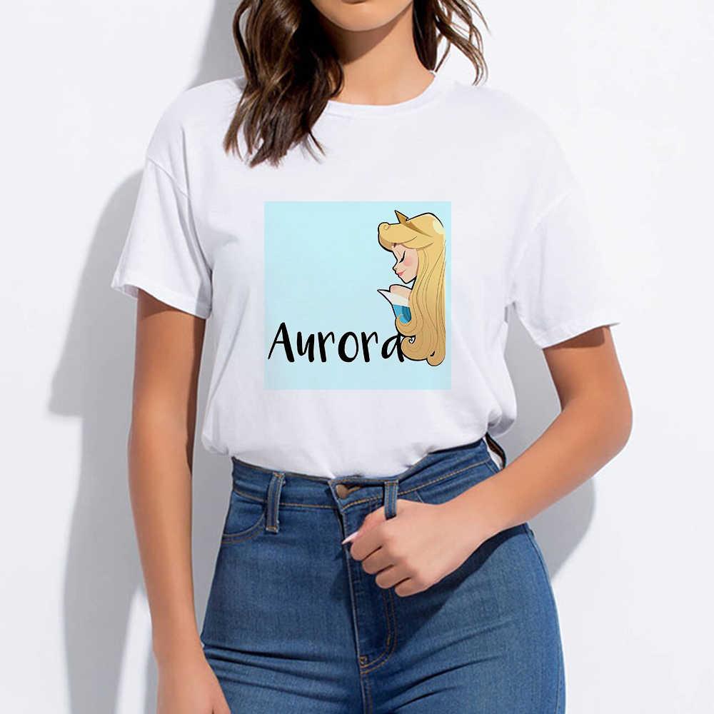 Günstige Runde Kragen Hipster Prinzessin Harajuku Pop T-shirt T-shirt Casual Frühling Sommer Oversize Punk Vintage Streetwear T hemd