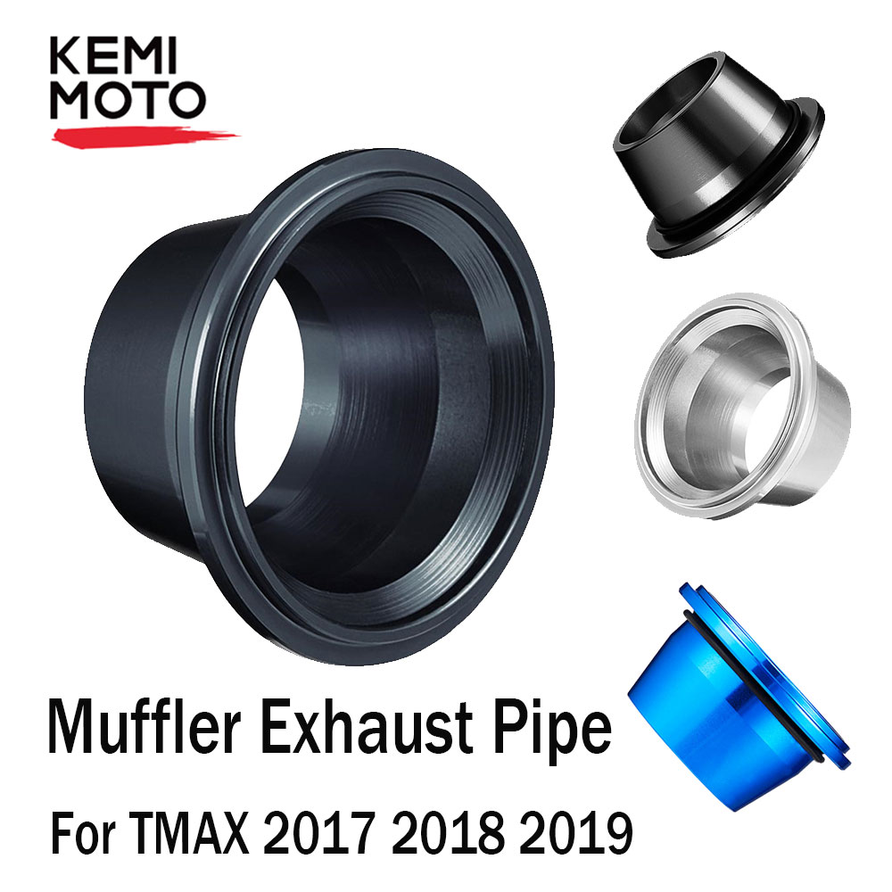 Exhaust Pipe Muffler Tip Cover For Yamaha Tmax <font><b>530</b></font> 2017 2018 <font><b>2019</b></font> <font><b>T</b></font>-<font><b>max</b></font> <font><b>530</b></font> DX SX Motorcycle Exhaust Tip Muffler Pipe Cover image