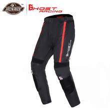 цены GHOST RACING Motorcycle Pants Men Moto Pants Moto Protection Motorbike Protective Trousers Have Cotton Lining Winter