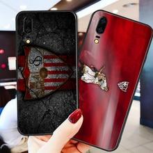 Phone Case Barega For Huawei P8 P9 P10 P20 P30 Black Soft TPU DIY Sevilla FC Honor 9 V10 Y5 Y6 Y9 Y7
